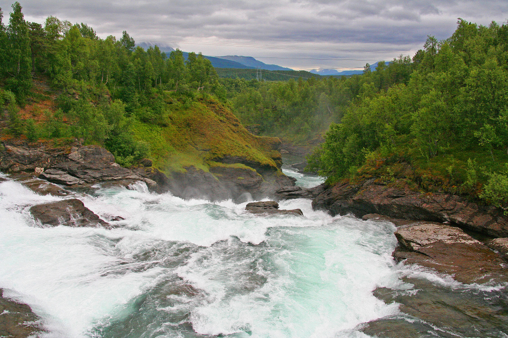 Hydropwer accounts for 99 % of Norwegian electricity production.
