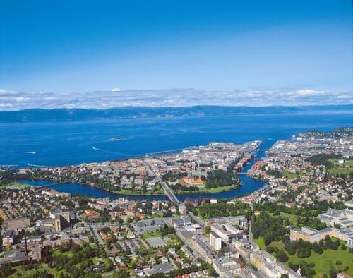 Trondheim, Photo: Ole P. Rørvik - Aune forlag