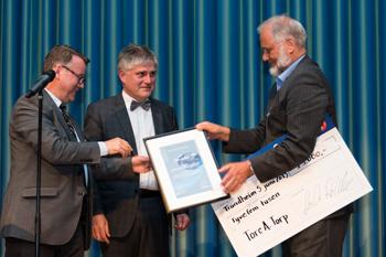 SINTEF and NTNU CCS Award. Winner at TCCS-7 Tore Torp.