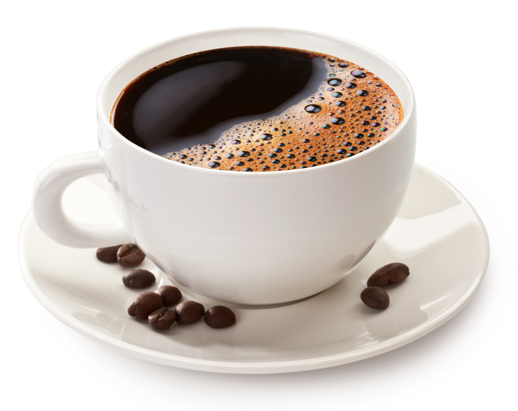 - Hvis du ser på overflaten i en kaffekopp, ser den for oss ut som en brå overgang mellom luft og kaffe. Hadde man zoomet inn til nanonivå, ville man sett en veldig smal region på kanskje 1-2 nanometer, den såkalte «overflateregionen», med egenskaper forskjellige fra både luften og kaffen. (Foto: Shutterstock)