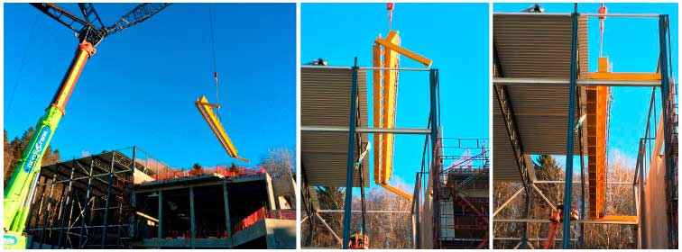 10+ 5 tons gantry crane mounted - November 2014.