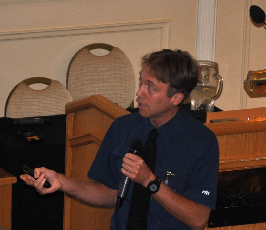 Tim Blair, BC Hydro, Canada (Foto: SINTEF)