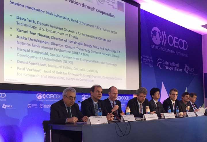 IEA/OECD session