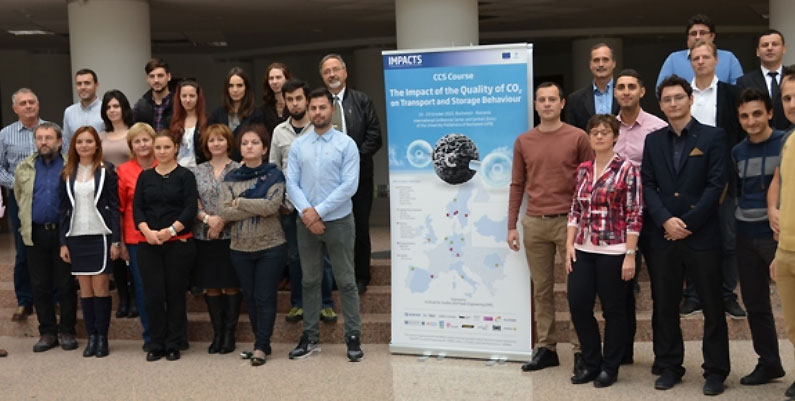 Participants at the IMPACTS CCS course in Bucharest, Romania. Photo: ISPE