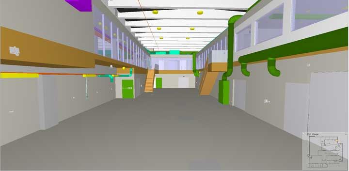 Etter ombyggingen vil verkstedområdet se ut sånn cirka som dette.