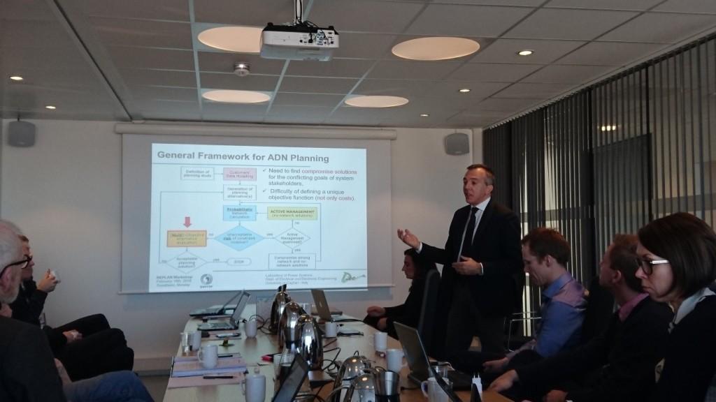 Professor Fabrizio Pilo (University of Cagliari) er en sentral fagperson bl.a i Cigré og CIRED innen planlegging og forvaltning distribusjonsnett.