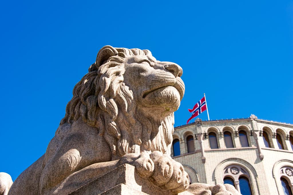 Det norske Storting (foto: Shutterstock.com)