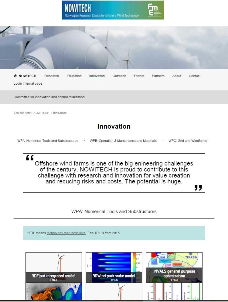 NOWITECH-website