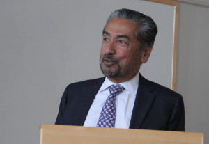 Professor Sanjoy Banerjee, City College of New York. Photo: Svend Tollak Munkejord.