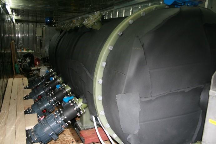 Antec sin patenterte biogassreaktor (Foto: Antec Biogas)
