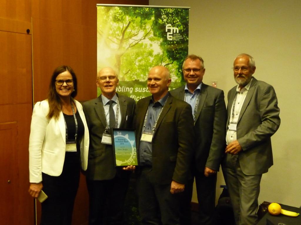 Fra_utdelingen Bioenergy Innovation Award