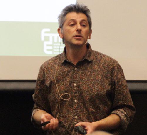 Mario Ditaranto presenting