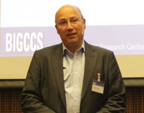 Pierre Cerasi presenting