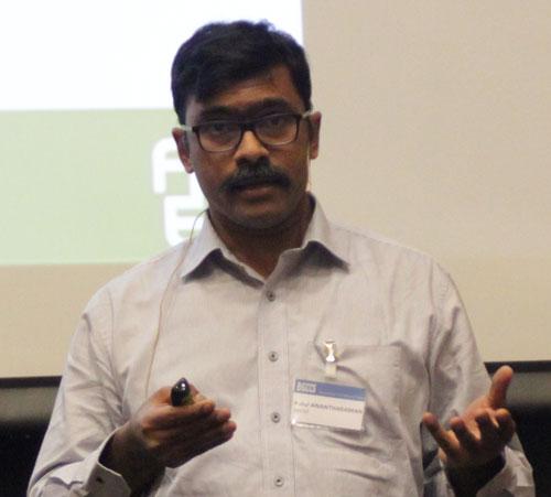 Rahul Anantharaman presenting