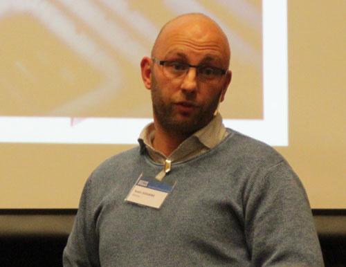 Svein Solvang presenting