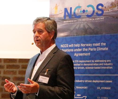 Nøkleby presenting