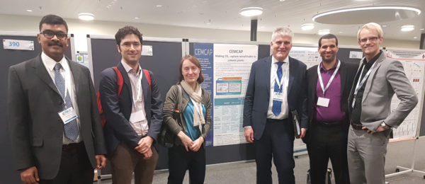 GHGT-13: CEMCAP presents CCS for decarbonizing the cement production process