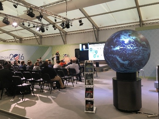 USAs COP22 stand