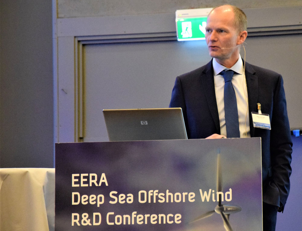 Progress in offshore wind research and innovation, John Olav Tande, director NOWITECH