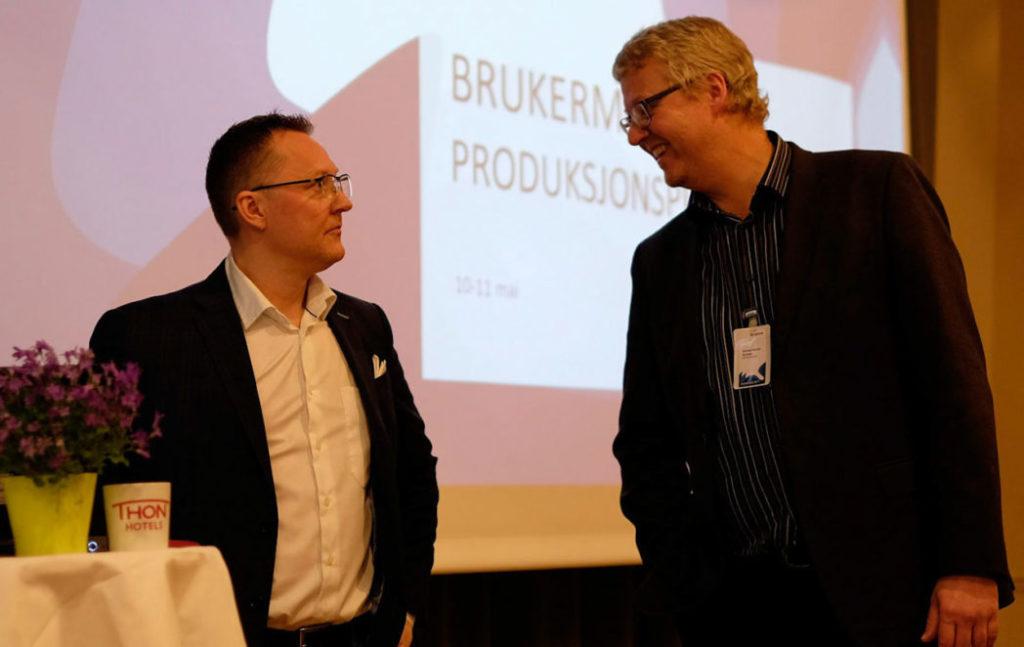 Knut Samdal og Michael Belsnes fra SINTEF Energi