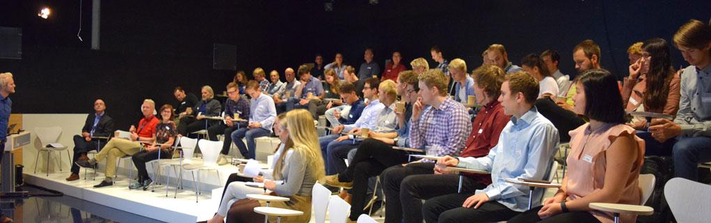 Velkommen ved Sigmund Størset, forskningsleder ved SINTEF Energi og prosjektleder for Sommerforskerprosjektet.