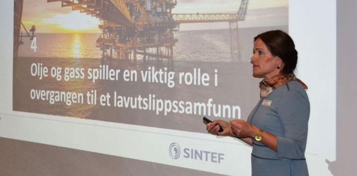 Globale utfordringer – norske muligheter ved Seniorforsker Marie Bysveen ved avdeling Termisk Energi