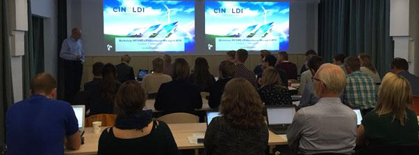 Ole Morten Midtgård presenterer WP4 Microgrids.