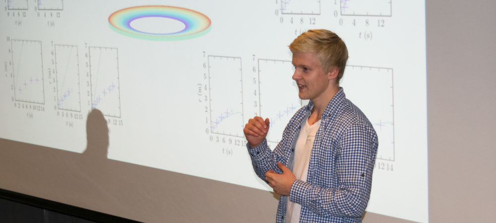 Sommerforsker Eirik Fyhn