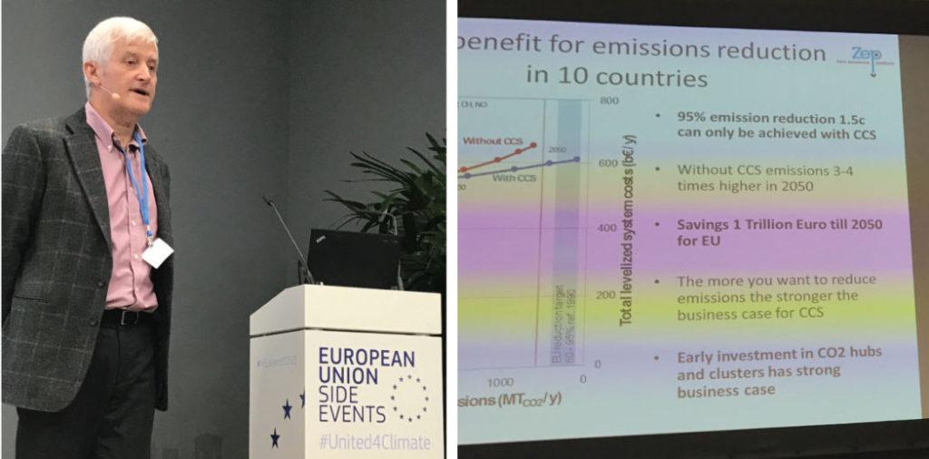 Charles Soothhil (GE og ZEP) forklarer hvorfor det blir mye dyrere å nå Paris-målene uten CCS.