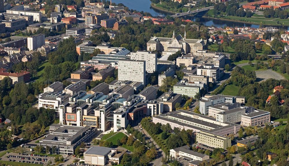 Gløshaugen NTNU Campus