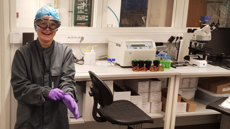 Working with nanoparticles requires safety precautions
