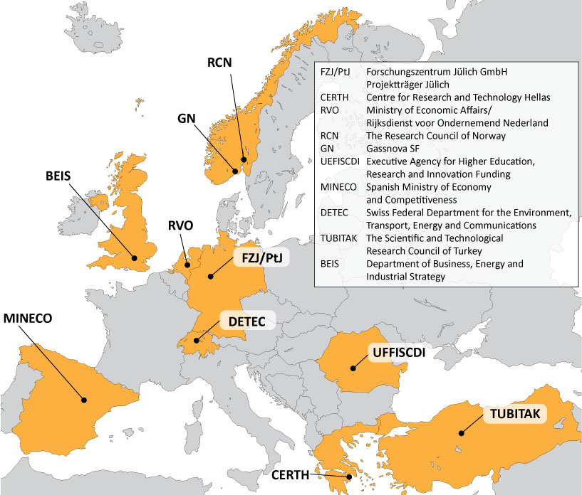 The ERA-NET ACT project is a Horizon2020 project with 10 partners from nine countries and is led by the Research Council of Norway.