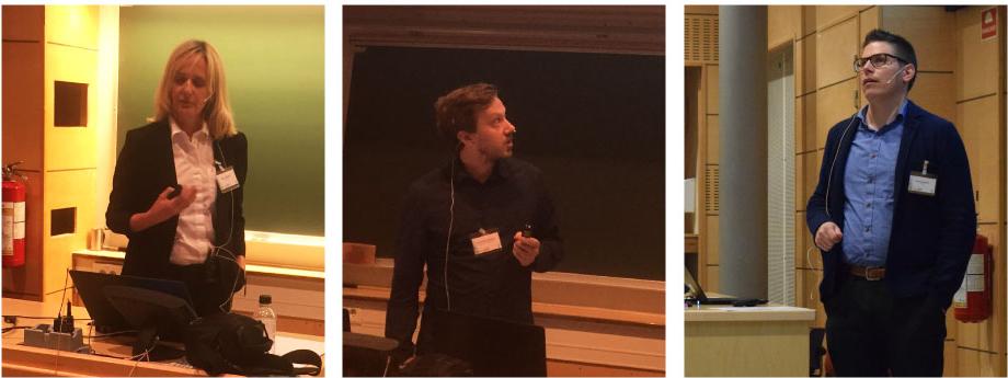 Senior researcher Marit Mazzetti from SINTEF, PhD student Jens Petter Johansen from NTNU SR and Steinar Elgsæter from Statoil