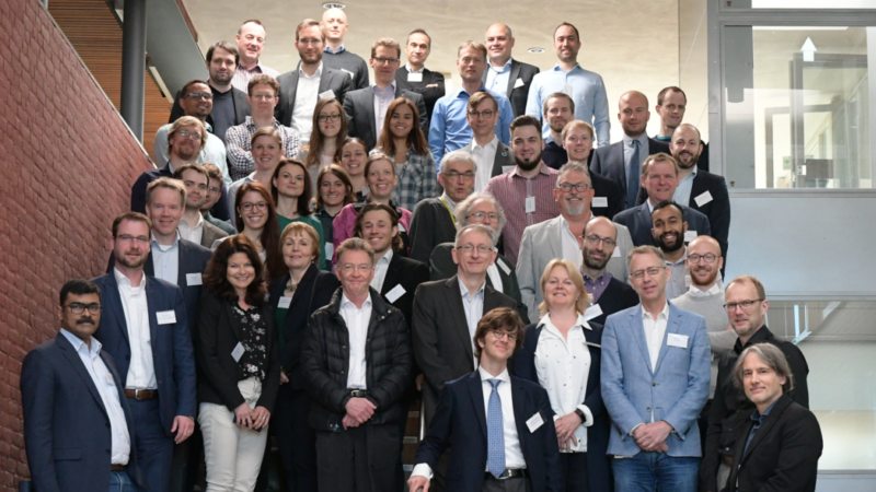 ELEGANCY project members gathered in Petten, the Netherlands. Photo: An Hilmo.