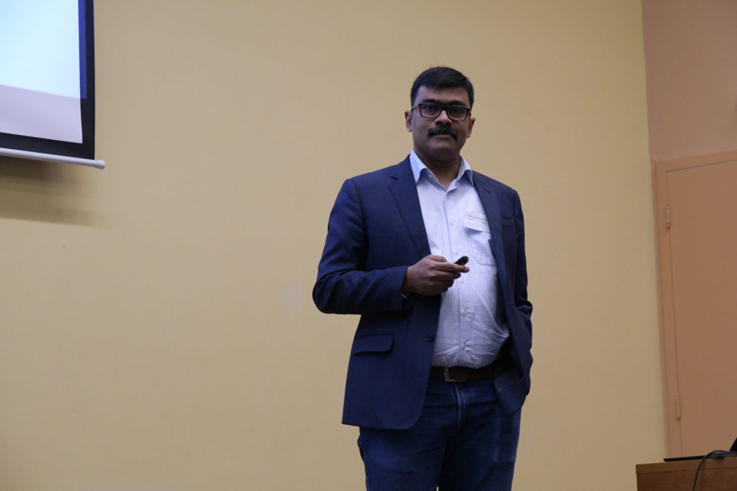 Rahul Anantharaman (SINTEF) presented a regional overview of requirements and potentials of hydrogen markets. Photo: Svend T. Munkejord.