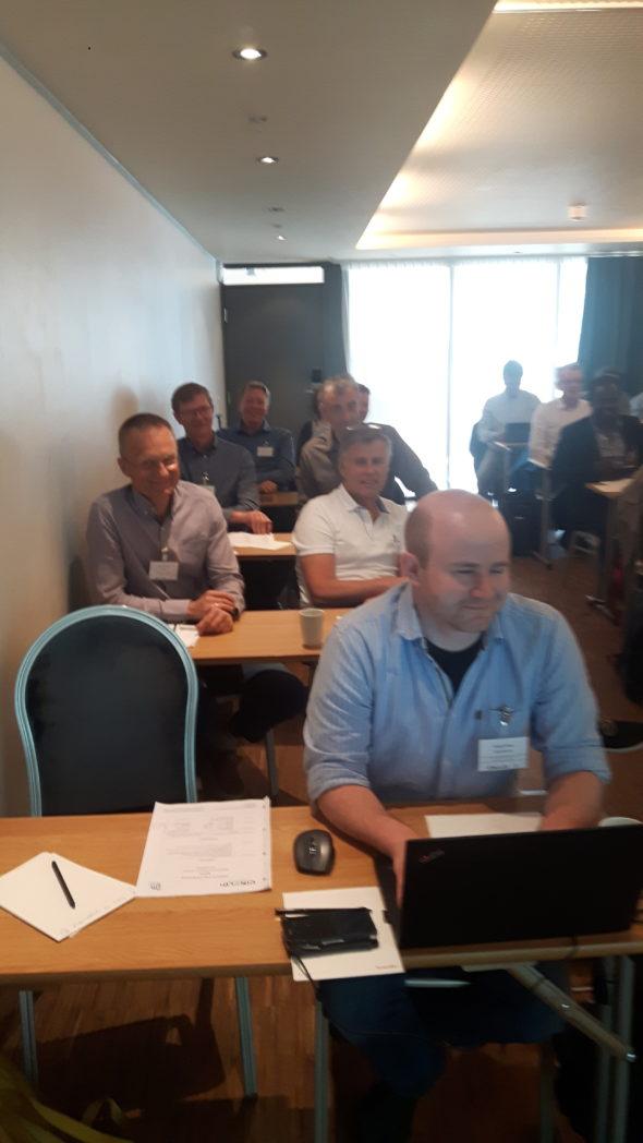 Fornøyde workshopdeltagere!