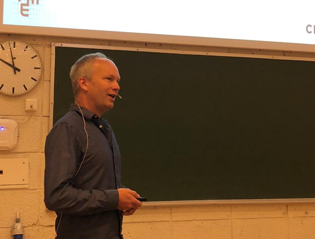 Magnus Korpås presenterer faglig status for WP5