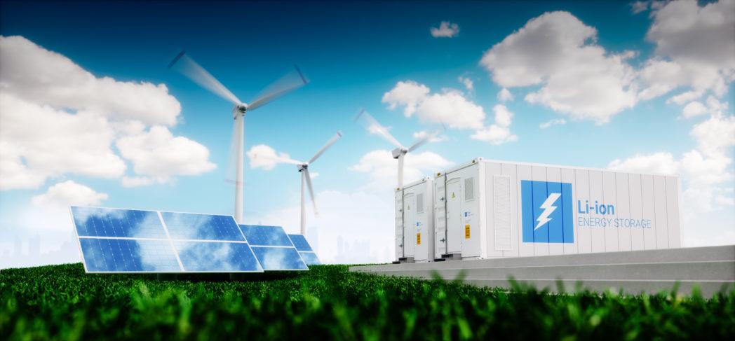 Batterier blir en del av strømnettet