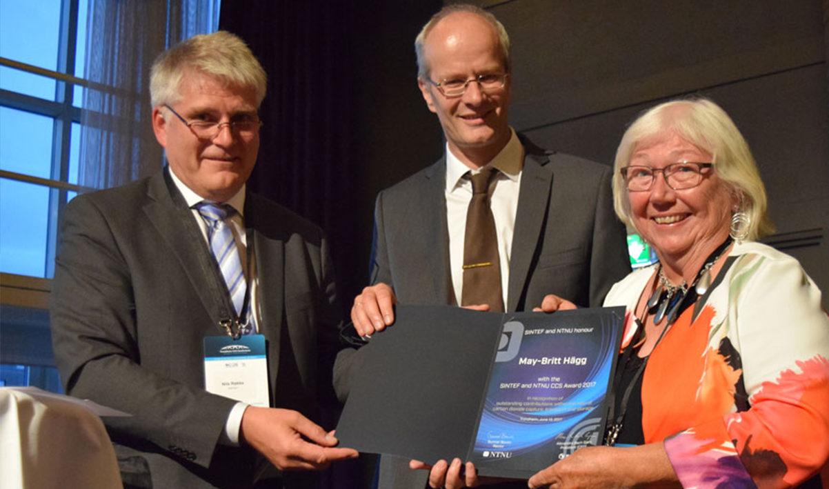 SINTEF and NTNU CCS Award