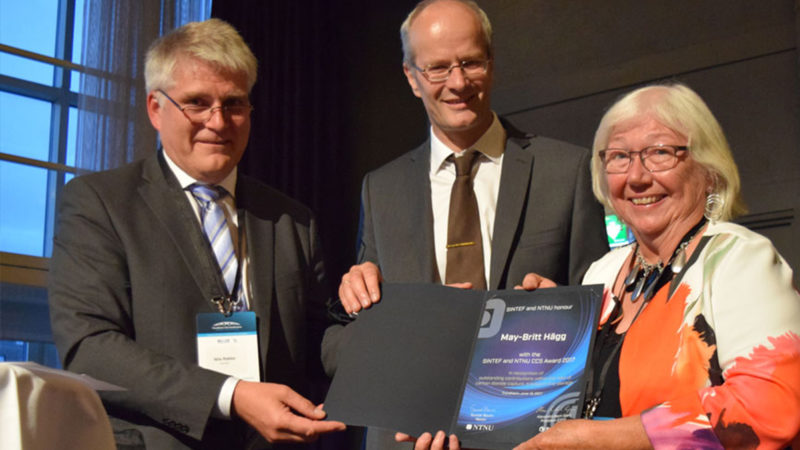 SINTEF and NTNU CCS Award