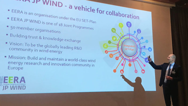EERA DeepWind 2019 The conference was opened by Conference Chair John Olav Giæver Tande briefly introducing EERA JPWIND.