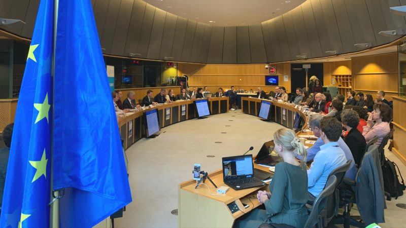 Elegancy project presentation in the EU Parliament in Brussels
