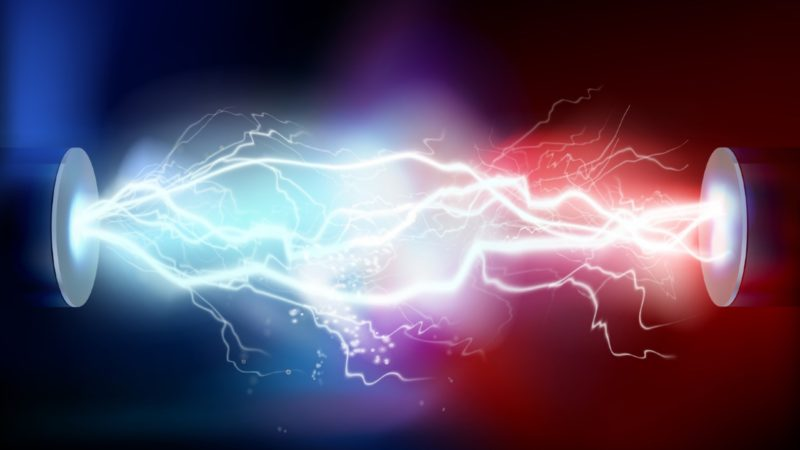 High voltage electric discharge